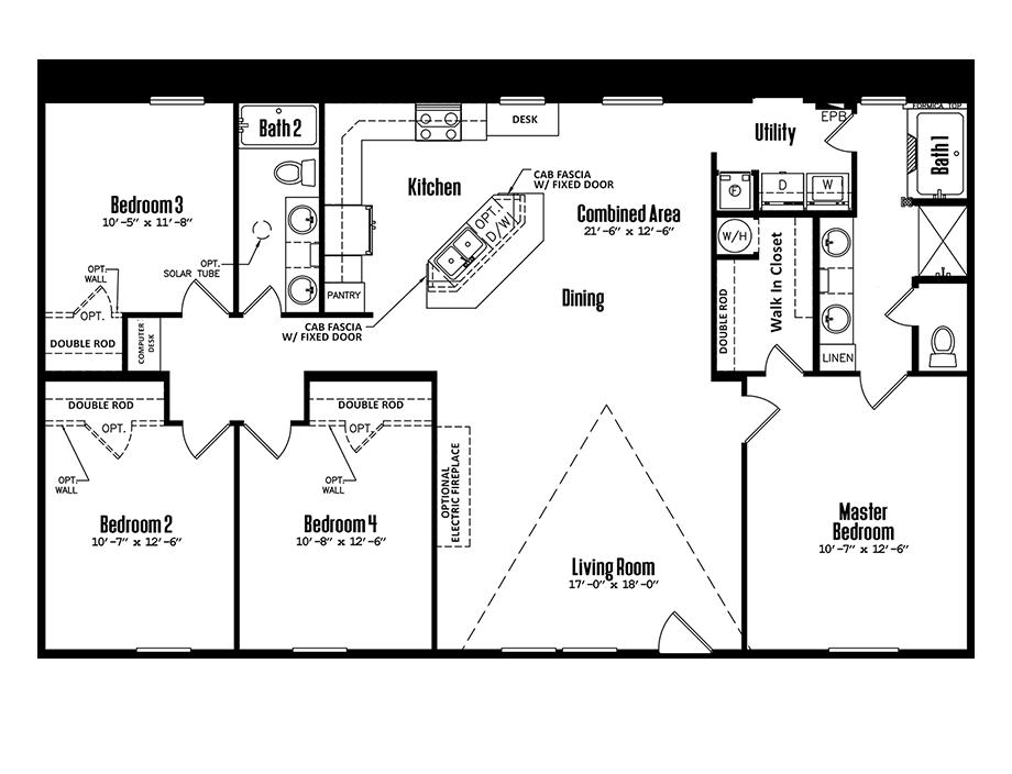 3256-42A4 Bedroom Home