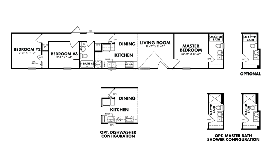 Legacy S-1272-32ATiny House Floorplan