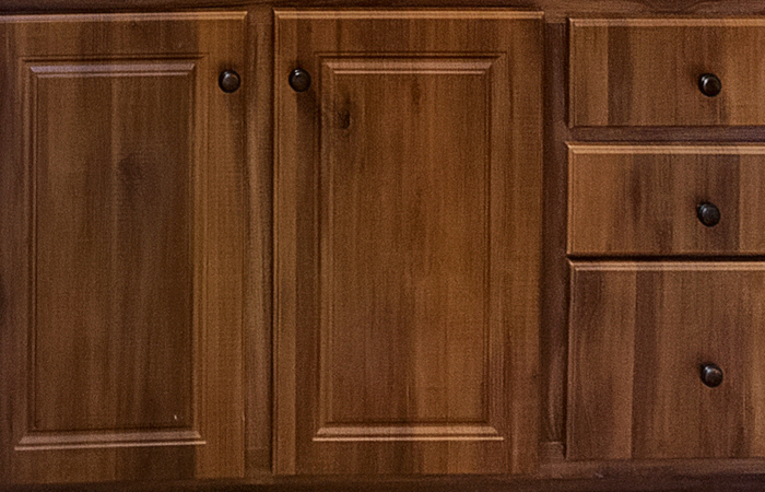 Rustic Chesnut Cabinet Doors Color Selection