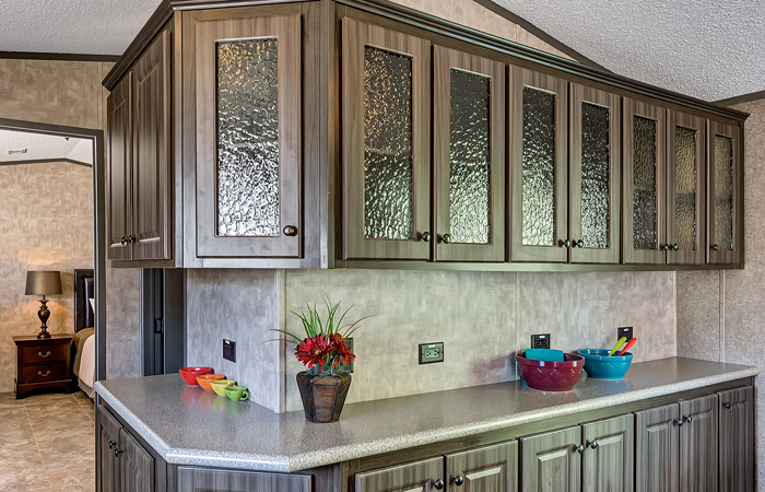 Glass Insert Cabinet Door