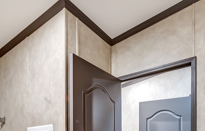 2.5-inch Cove Ceiling Molding + Door Casing
