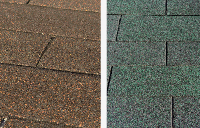 Color Shingle Roof
