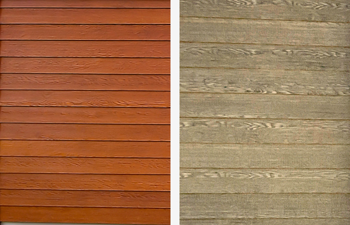 Stained Smart Lap Siding