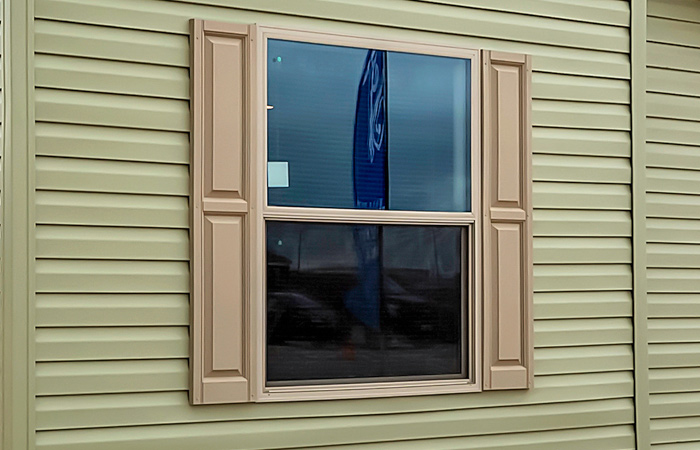 Additional Vinyl Shutters - Pair