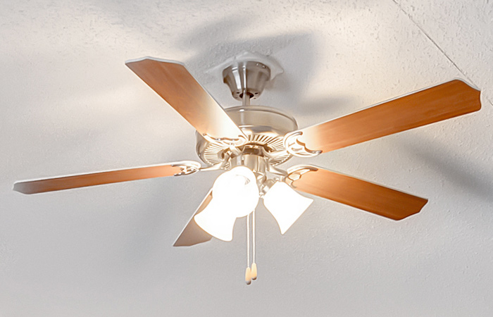 Ceiling Fan w/ Wire & Brace